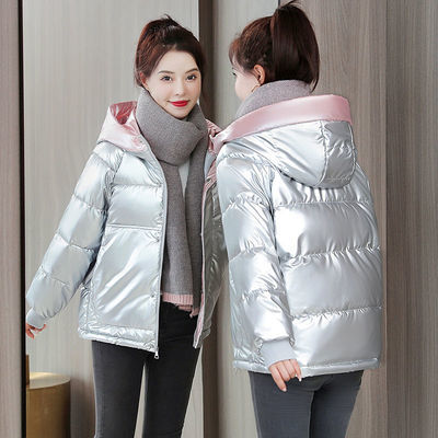 46539/反季棉袄女2021新款女装大码短款棉服冬天衣服女外套加绒加厚棉衣