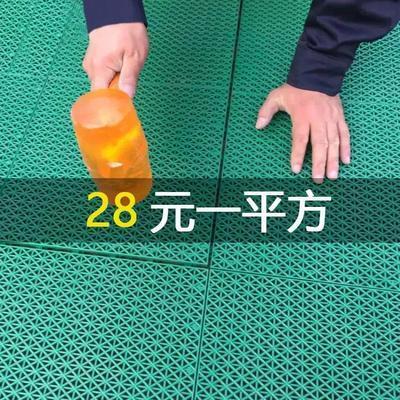 拼装地板悬浮地垫幼儿园室外篮球场地胶户外操场体育跑道防滑地板