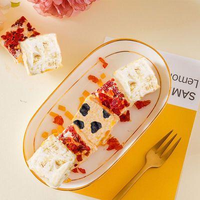 天兴隆网红雪花酥咸蛋黄味蔓越莓味休闲零食小吃饼干小吃350g
