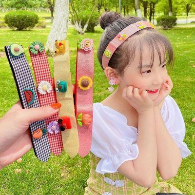 39257/女童宝宝魔术贴发箍发带女发卡儿童发夹刘海贴碎发帖头箍头饰发饰