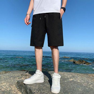 39913/潮流男士短裤夏季沙滩裤男宽松休闲短裤男五分裤速干大裤衩男大码