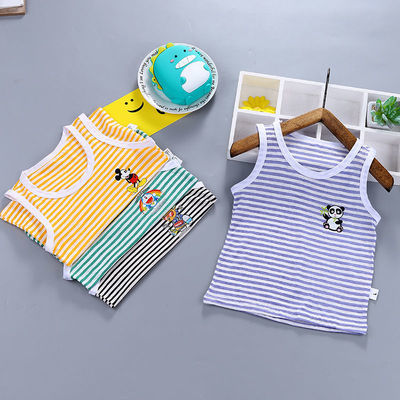 38895/夏季婴幼儿背心【0-6岁】男女童通用新款童装宝宝背心吊带打底衫