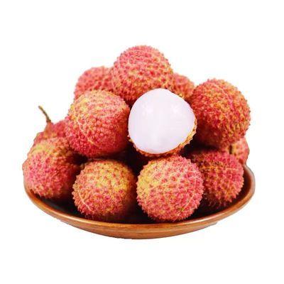 39544/广东妃子当季黑叶白糖罂鲜桂味白腊糯米糍熟笑荔枝新鲜现摘水果