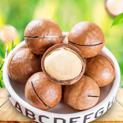 新货夏威夷果连罐250-1000g奶油味坚果干果批发特产散装称斤