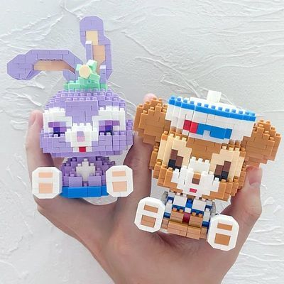 38753/微型拼装小颗粒益智玩具积木兼容乐高男女孩系列成年高难度星黛露