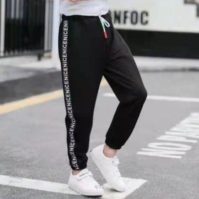 儿童夏装灯笼裤男女棉麻薄款防蚊裤运动宽松长裤