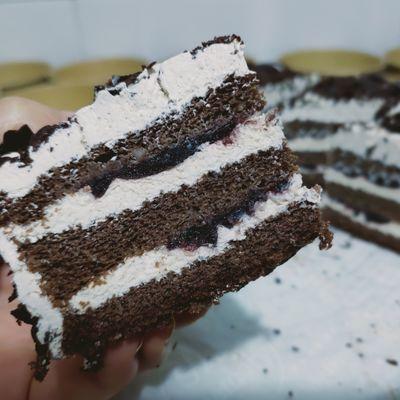 74912/巧克力蛋糕黑森林甜品生日蛋糕零食下午茶顺丰包邮