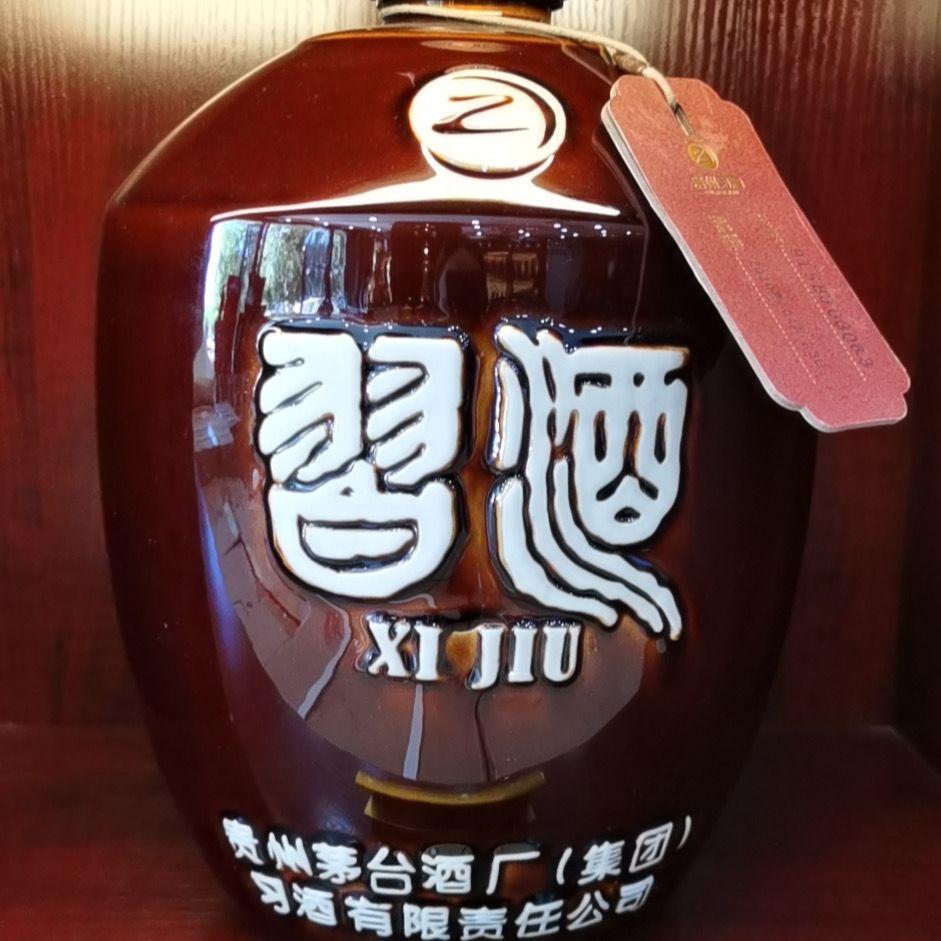 2020年产白酒酱香型53度贵州习酒酱香经典10斤装5000ML*1瓶