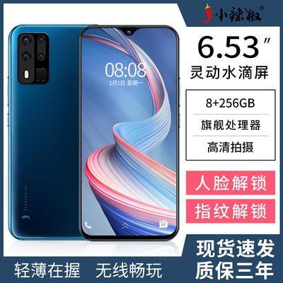 48723/小辣椒P40八核256G大内存6.5英寸安卓全网通4G特价便宜货智能手机