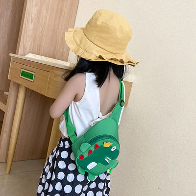 儿童包包斜挎包可爱卡通恐龙单肩包男女童宝宝零钱包婴幼儿小背包