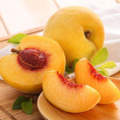 【顺丰】现摘现发山东蒙阴黄桃1/3/5斤新鲜桃子大果脆甜水蜜桃