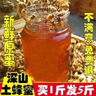 天然正宗蜂蜜 农家自产纯正原味正品野生百花蜜洋槐蜜 深山土蜂蜜
