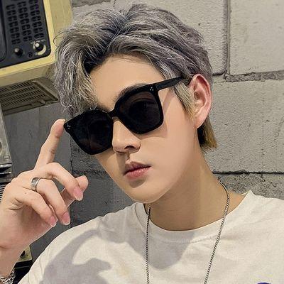 情侣太阳镜男韩版潮大框眼镜2020新款防紫外线开车司机网红墨