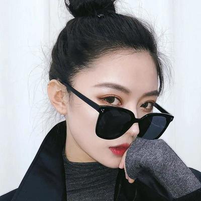 pddGM韩版墨镜男女潮流太阳镜ins网红墨镜大脸显瘦防紫外线太阳镜