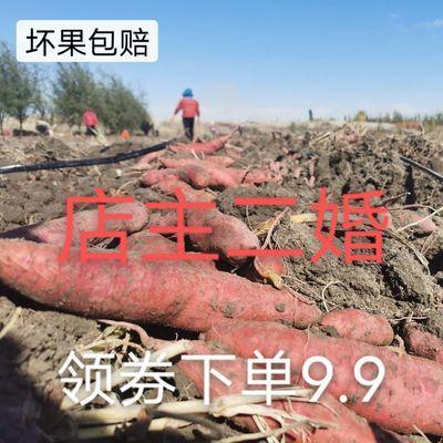 新疆特级天山蜜薯现挖沙土地红薯糖心红心地瓜番薯软糯甜代餐5斤