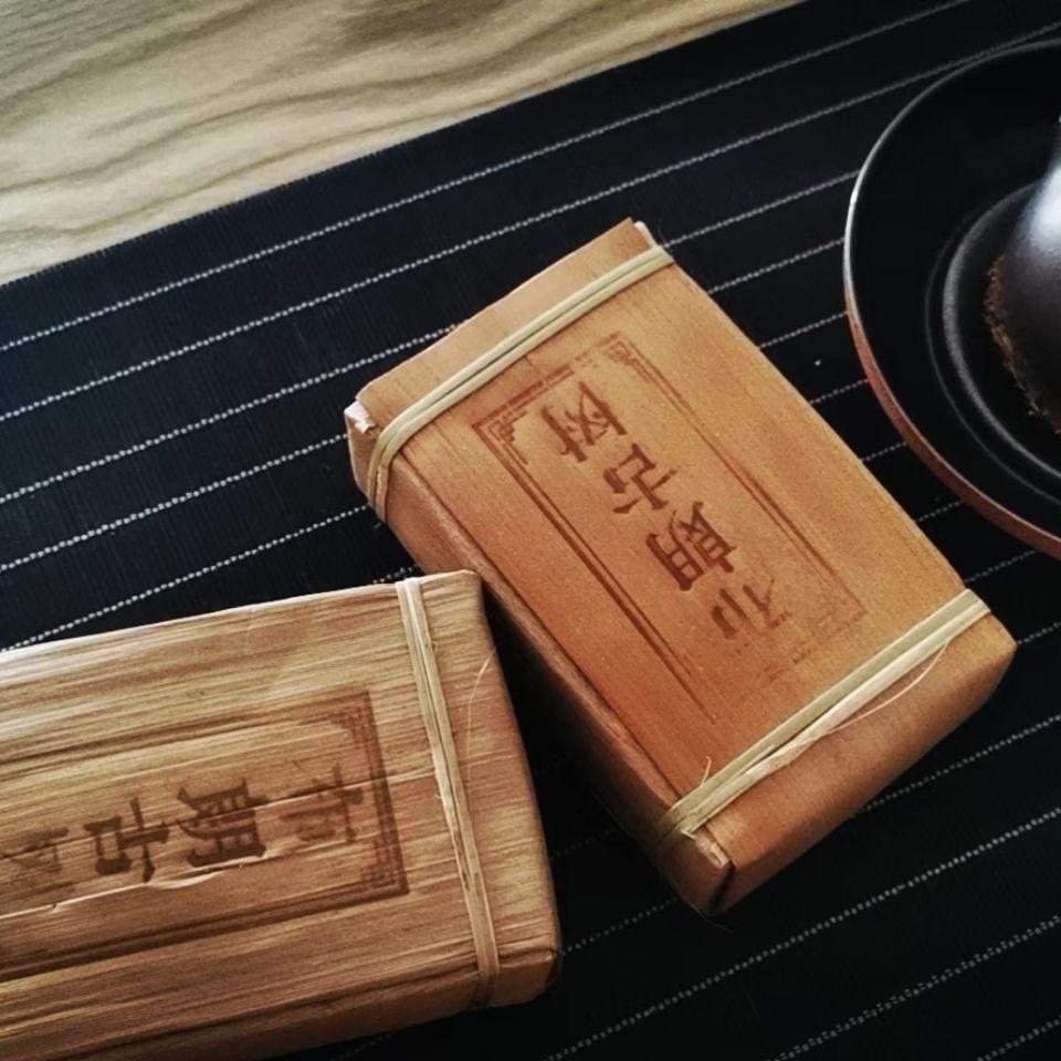 2014年布朗古树普洱茶500克砖