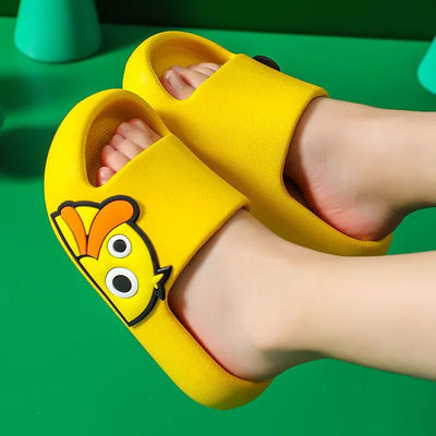 儿童凉拖鞋女卡通宝宝亲子款大中小童男孩防滑软底漏水拖鞋公主鞋