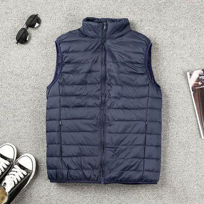 63935/反季促销轻薄羽绒男士《单色》时尚宽松坎肩马甲时尚款