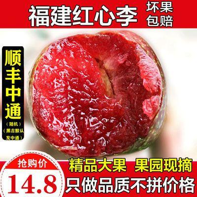 红心李子水果园批发奈李3/5斤当季水果新鲜特价整箱甜芙蓉三华李