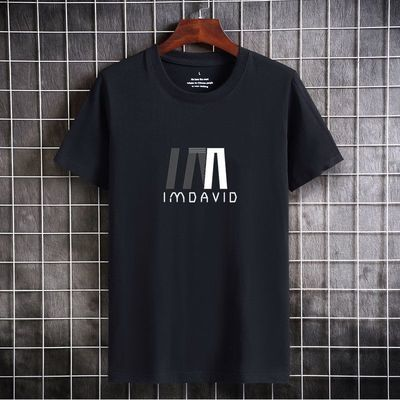 韩版修身冰丝男士短袖T恤夏季潮牌潮流2021新款半袖圆领体恤上衣