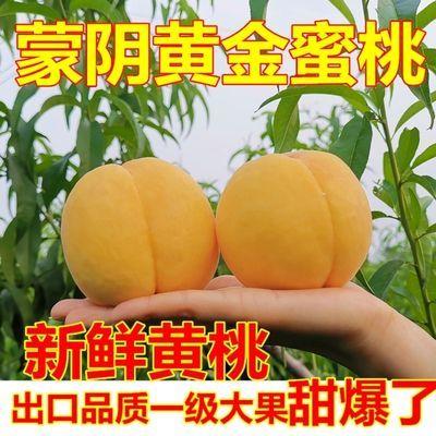 纯甜黄桃2/3斤5斤装农家现摘锦绣黄金蜜桃子新鲜孕妇水果黄心毛桃