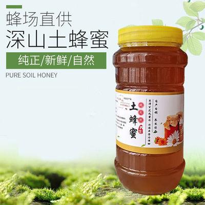 深山土蜂蜜正宗野生蜂巢蜜百花蜜500g成熟封盖农家自产纯正土蜂蜜