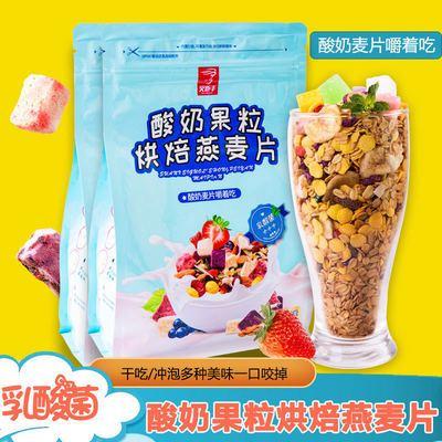 酸奶食品男女零食水果烘焙麦片即食营养早餐代餐食品500克