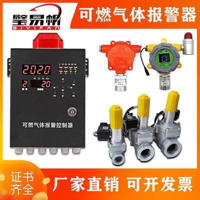 90895/可燃气体检测仪探测器工业商用饭店厨房天然气燃气报警器煤气瓦斯
