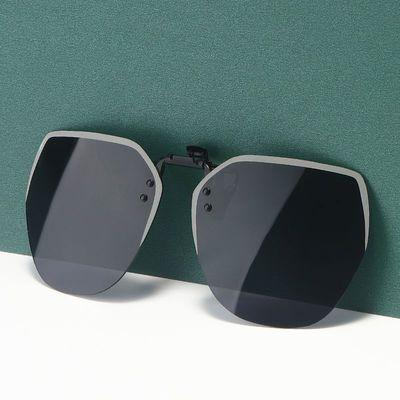 73772/墨镜夹片男超轻开车专用太阳镜女偏光镜片夹片式近视潮人夜视眼镜