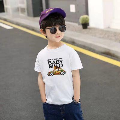 童装夏季薄款背心男童短袖网眼T恤儿童新款透气排汗速干休闲舒适