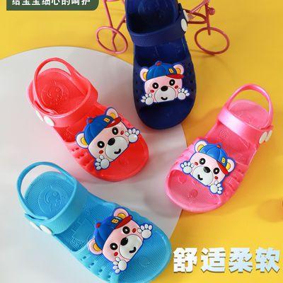 儿童凉鞋夏洞洞学步鞋包头防滑尿不湿镂空婴儿宝宝软底可爱露趾鞋