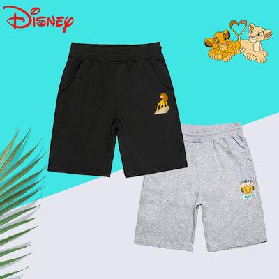 [2件】Disney迪士尼男女童短褲2021新兒童休閑夏外穿中大童運動褲