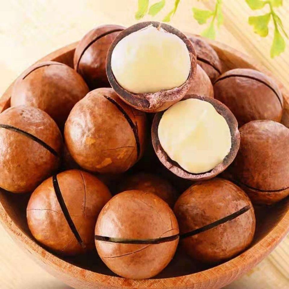 新货夏威夷果散装奶油味坚果年货夏果送开口器干果炒货