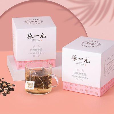 77780/张一元白桃乌龙茶白葡萄茉莉花茶袋泡下午水果茶冷泡茶30g(10包)