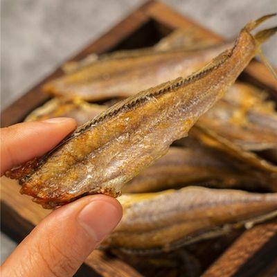 香酥即食小黄鱼酥鱼干休闲海鲜黄花鱼吃的零食熟小吃食品500g/50g