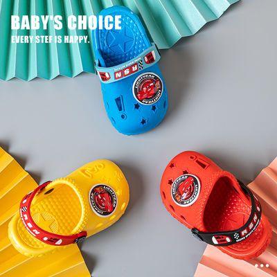 儿童洞洞鞋男孩家用防滑浴室内洗澡轻柔软底3岁学龄前幼儿童拖鞋