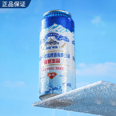 哈尔滨雪颖冰纯啤酒大罐畅饮装500ml5罐9罐包邮
