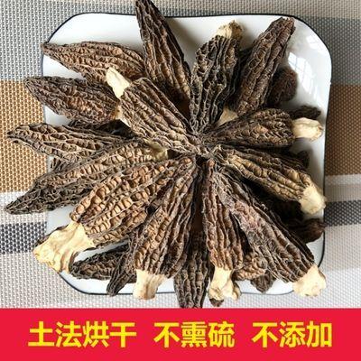 特级羊肚菌干货批发剪柄云南新鲜野生菌菇茶树菇煲汤食用香菌松茸