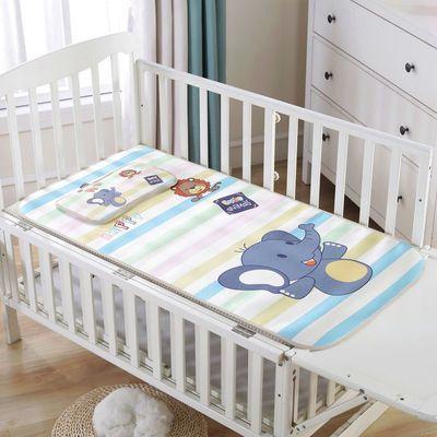 50707/夏季婴儿凉席儿童床冰丝小席子幼儿园宝宝午睡软席卡通透气可水洗