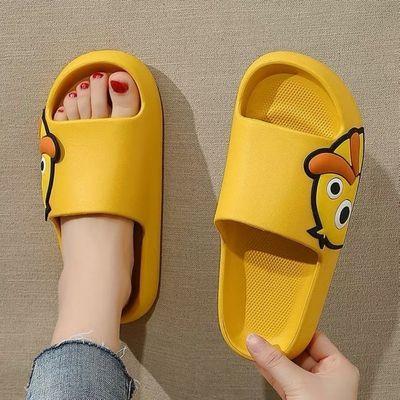 2021新款凉拖鞋女夏季可爱外穿卡通时尚浴室韩风居家防滑软底家用