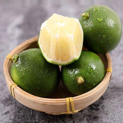 海南特价青柠檬新鲜应当季水果香水黄鲜柠檬奶茶店专用批发包邮