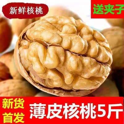2021年新货特价新疆薄皮核桃批发坚果大核桃原味孕妇零食干核桃