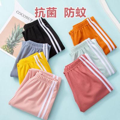 夏季儿童防蚊裤运动裤薄款休闲夏装男童女童潮灯笼长裤子