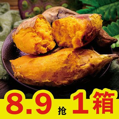 新鲜红薯现挖沙地番薯农家板栗薯粉糯香甜无筋地瓜批发黄心薯地瓜