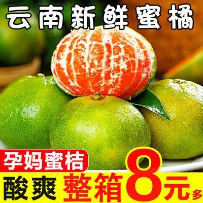 现摘橘子水果新鲜蜜桔3斤应季孕妇青桔子批发薄皮整箱包邮金桔