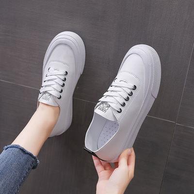 52665/2021新款小白鞋女夏季百搭女鞋白鞋休闲鞋运动鞋学生鞋韩版潮鞋女