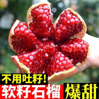 【3斤10】四川会理突尼斯软籽石榴当季新鲜水果红籽现摘包邮石榴