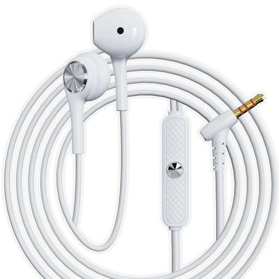 【新品】带线耳机不入耳高音质高颜值女生耐用好音质平耳W40