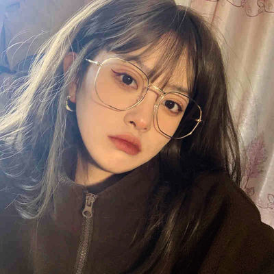 77183/金丝边眼镜框女近视可配度数大框平光镜复古装饰眼镜韩版潮网红款