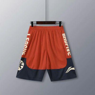 57170/LN篮球裤短裤男运动宽松健身跑步透气速干美式五分裤女过膝夏季